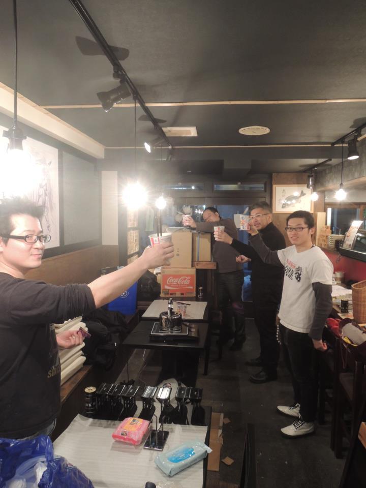 「佐渡の酒と肴 だっちゃ」女店主きたむらさやかの営業日誌 東京メトロ浅草駅から徒歩20歩!-差し入れにカップラーメンいただきました!